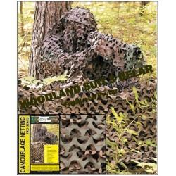 3 set kamouflage dräkt - woodland 3D